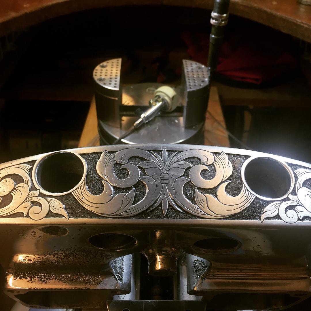 5 pics Hand engraved aluminum sand cast rocker boxes forhellip