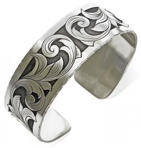 Hand Engraved Bracelet