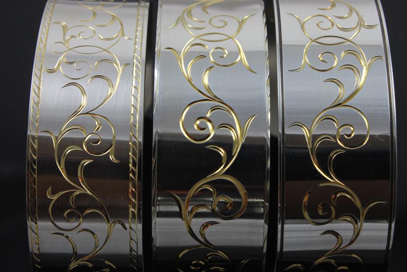 Hand Engraved Silver Bracelets / 3 variations