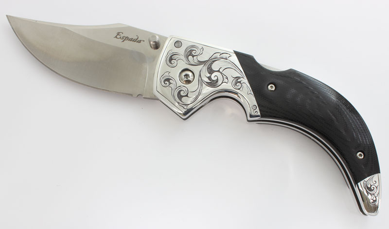 Cold Steel Espada / Hand Engraved
