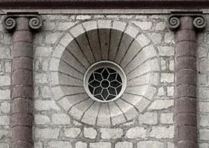 Santa Barbara Mission Rosetta Window