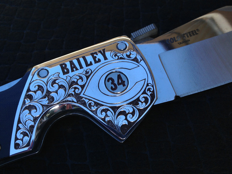 Homer Bailey knife
