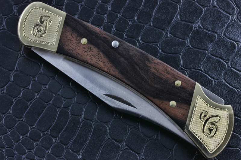 Buck 110 Engraved