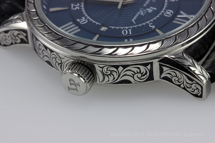 Hand Engraved Watch
