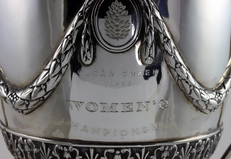 Hand Engraved Trophy Cup