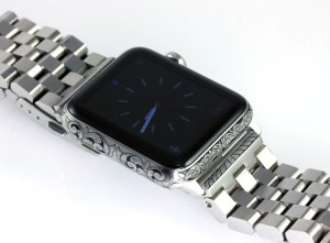 Hand Engraved Apple Watch