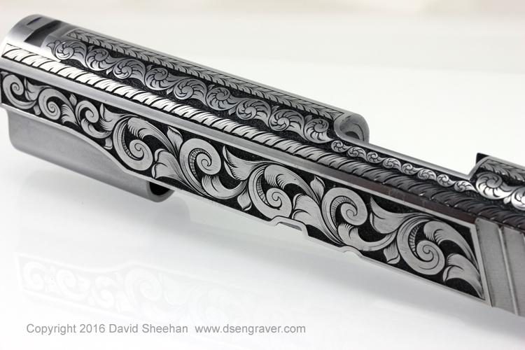 Gun Engraving 1911 Slide
