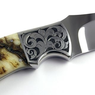 Just finished hand engraving this really nice custom knife withhellip