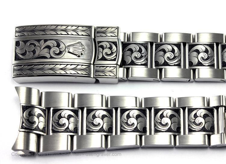 Hand Engraved Rolex Milgauss