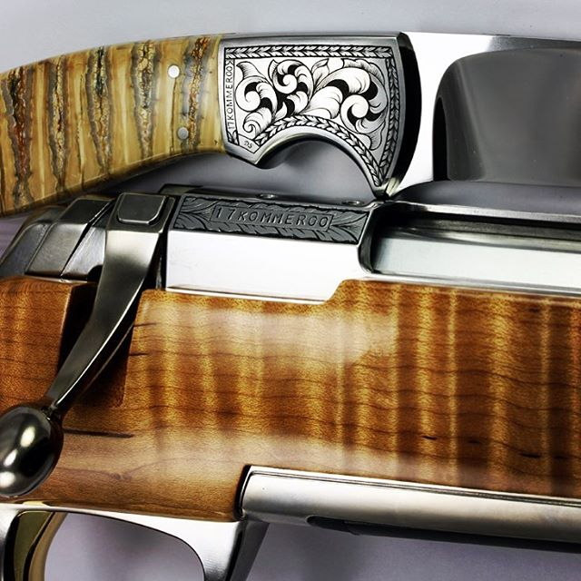 I also engraved a matching rifle for Browning to completehellip