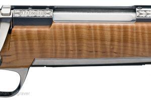 Hand engraved rifle knife set
