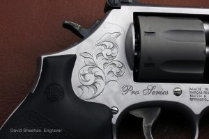 Hand Engraved Smith & Wesson