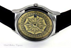 watch dial engraving