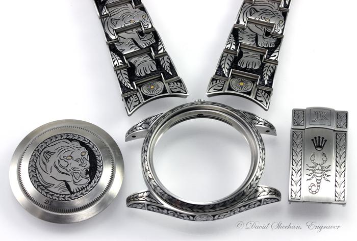 Rolex engraving