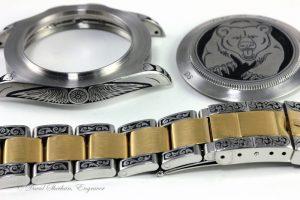 Vintage Rolex Engraved