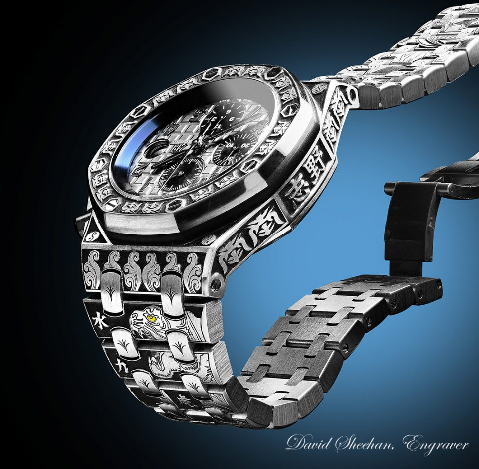 Hand Engraved Watches
