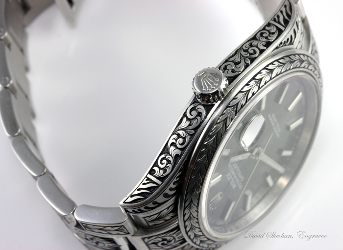 Rolex Watch Engraving