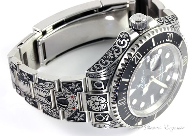 Engraved Rolex Sea Dweller