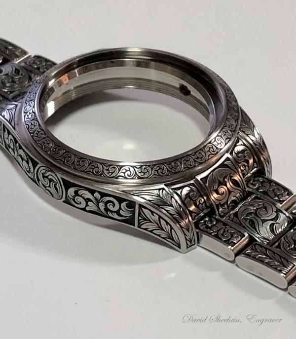 Rolex Milgauss engraved