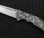 Hand Engraved Knife