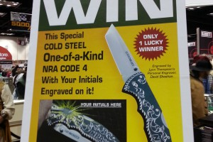 NRA hand engraved Code 4