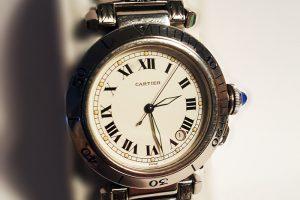 Hand Engraved Cartier Watchband