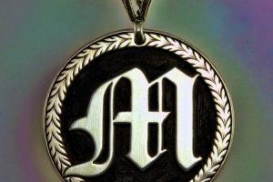 hand engraved pendant