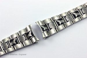 Hand Engraved Rolex