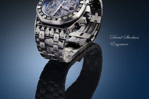 Hand Engraved Watch Audemars Piguet