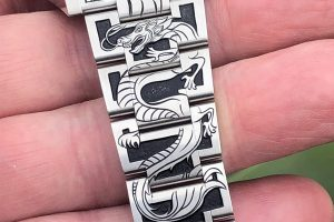 Dragon Rolex Engraving